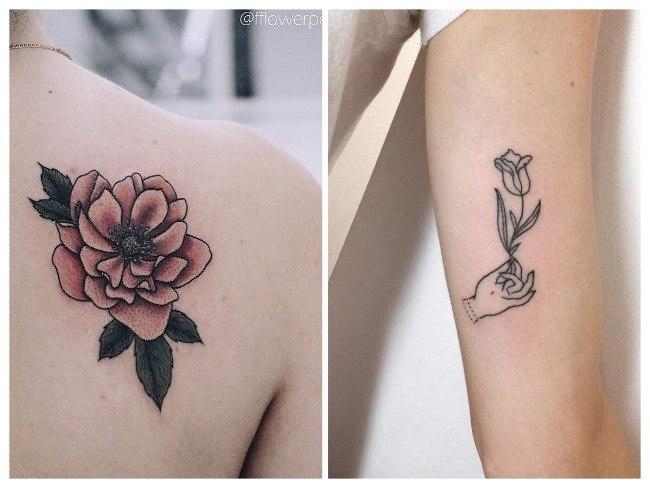 tatuajes femeninos hombro