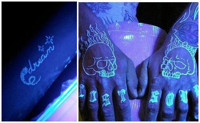 Tatuajes fluorescentes cuánto duran