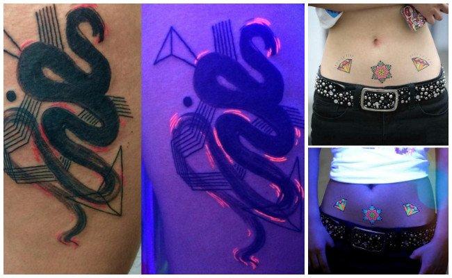 Tatuajes fluorescentes