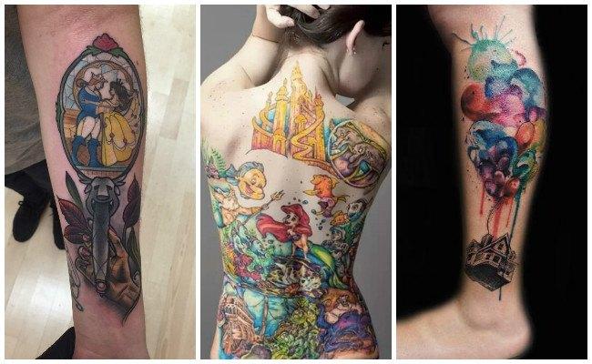 Tatuajes de frases de disney