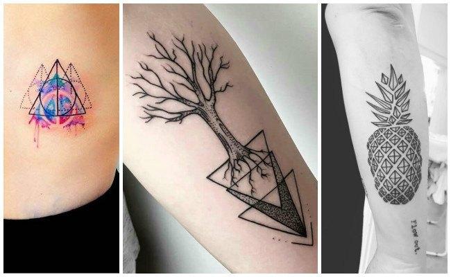 Tatuajes geometría sagrada