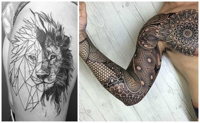 Tatuajes de geometría de animales