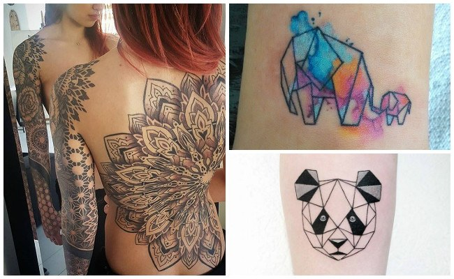 Tatuajes geométricos minimalistas