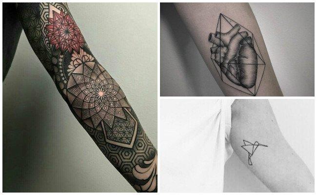 Tatuajes geométricos y significado