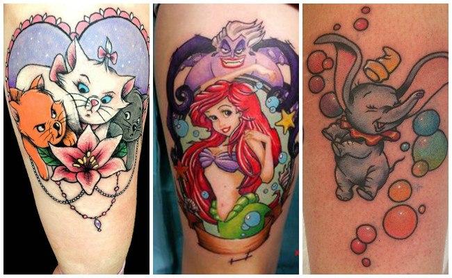 Tatuajes de hadas de disney