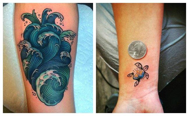 Tatuajes hawaianos en el brazo