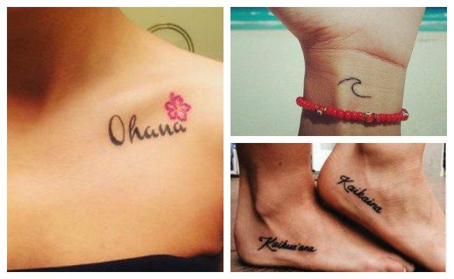 Tatuajes hawaianos en el hombro