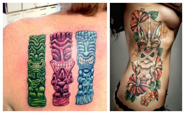 Tatuajes hawaianos para mujer
