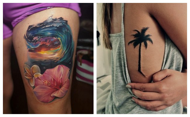 Tatuajes hawaianos