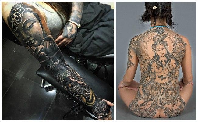 Tatuajes hindúes de shiva