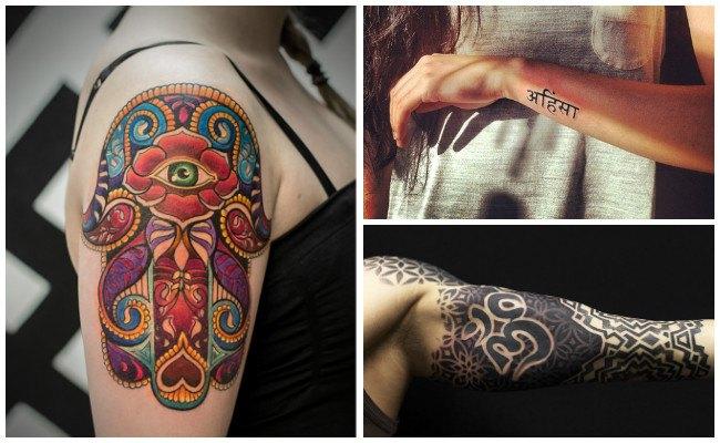 Tatuajes hindúes