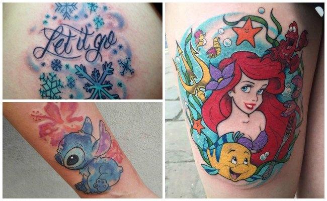 Tatuajes infantiles de disney
