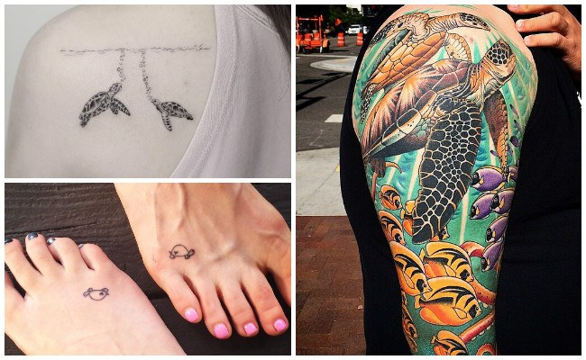 Tatuajes de las tortugas ninjas