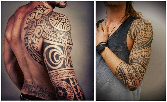 Tatuajes maoríes para mujer
