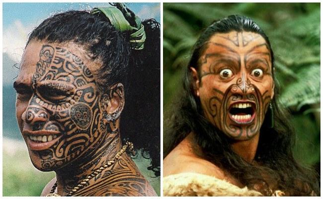Tatuajes maoríes y polinesios