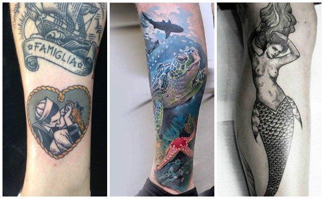 Tatuajes marineros old school