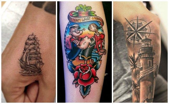 Tatuajes marinos y su significado