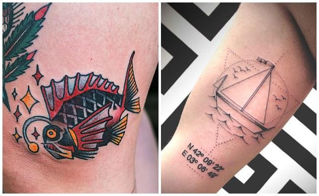 Tatuajes De Barcos Y Otros Disenos De Tatuajes Marineros