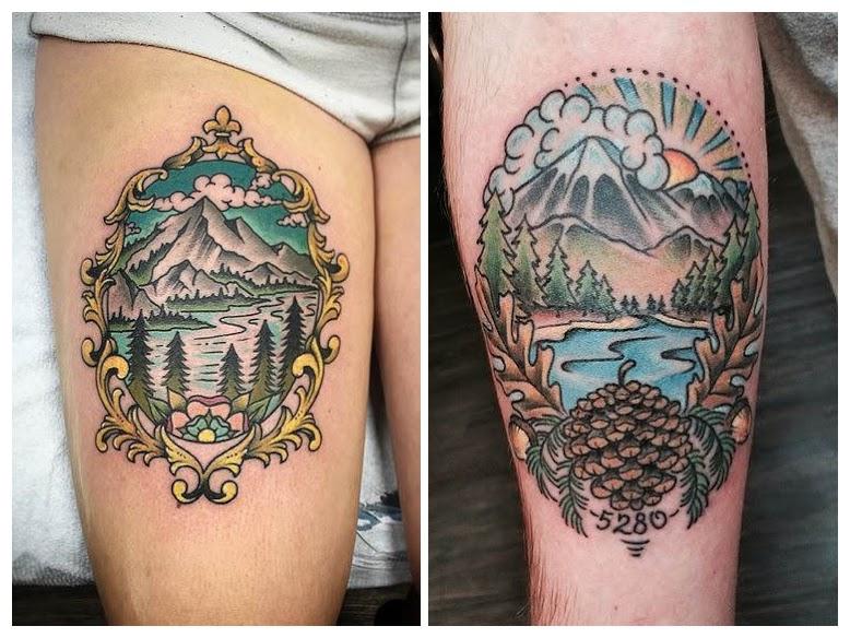 Tatuajes de montañeros