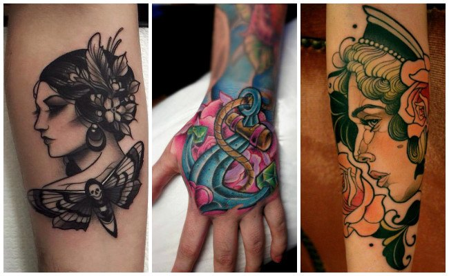 Tatuajes new school y diseños