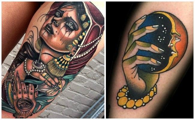 Tatuajes nueva escuela y diseños