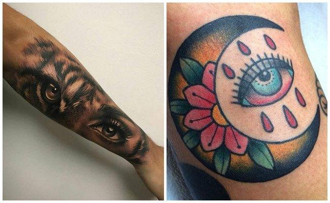 Tatuajes de ojos de dios