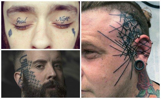 Tatuajes en los ojos para mujeres