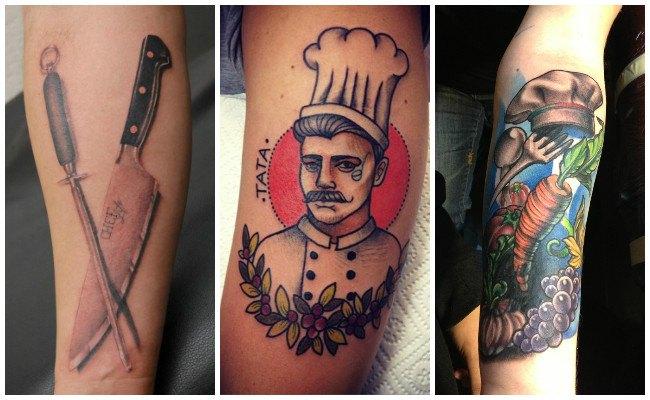 Tatuajes para chef hombres