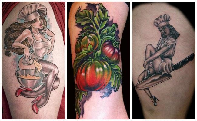Tatuajes para chef mujeres