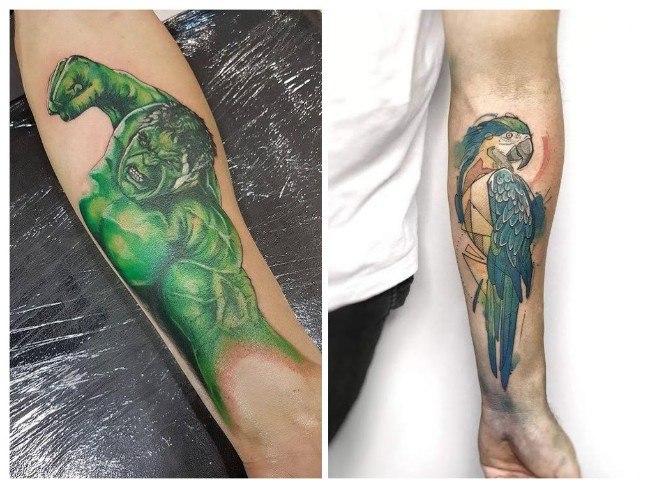tatuajes para hombres 3d