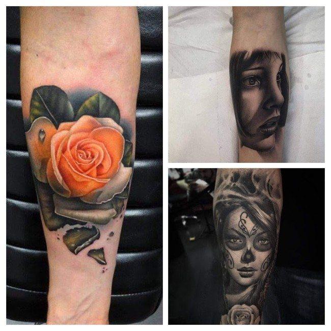 tatuajes para hombres a color