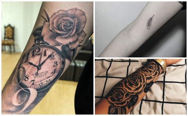 tatuajes para hombres antebrazo