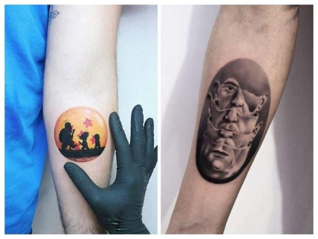 tatuajes para hombres brazaletes