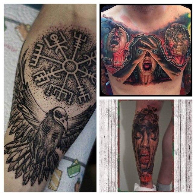 tatuajes para hombres de calaveras