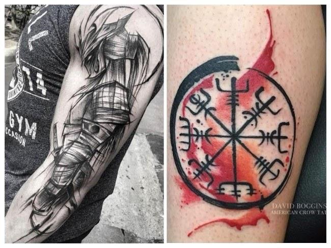 tatuajes para hombres delgados