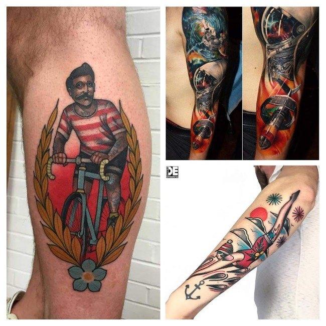 tatuajes para hombres en el abdomen