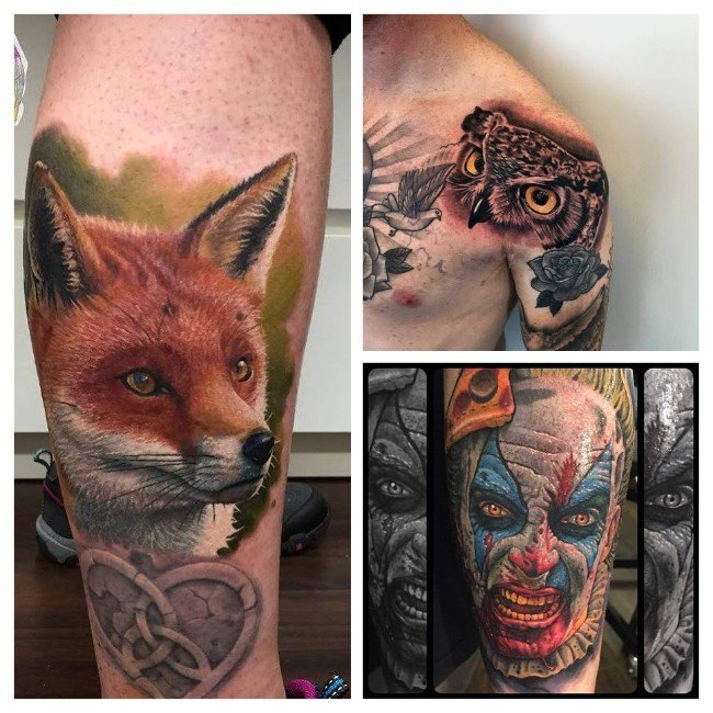 tatuajes para hombres en el pie