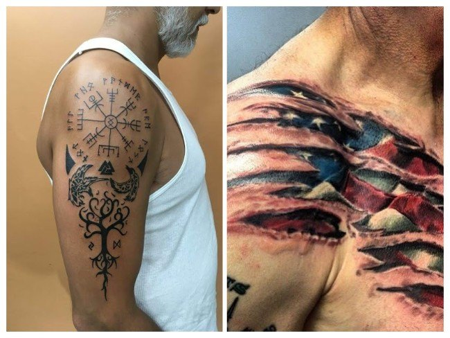 tatuajes para hombres en la pierna