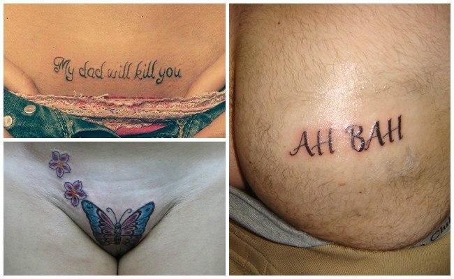 Tatuajes para hombres en zonas íntimas