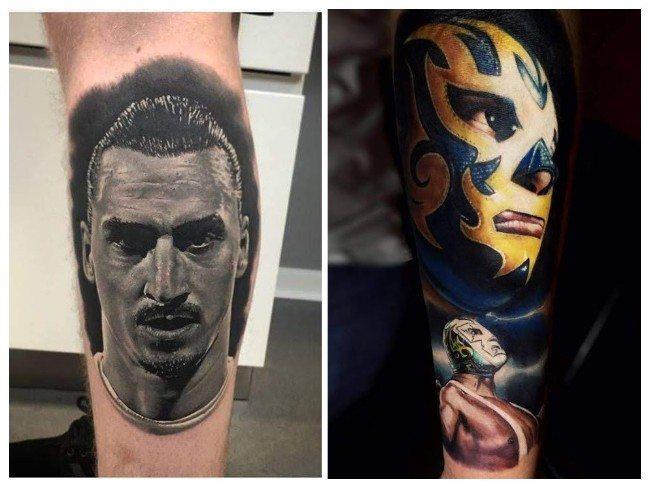tatuajes para hombres manga