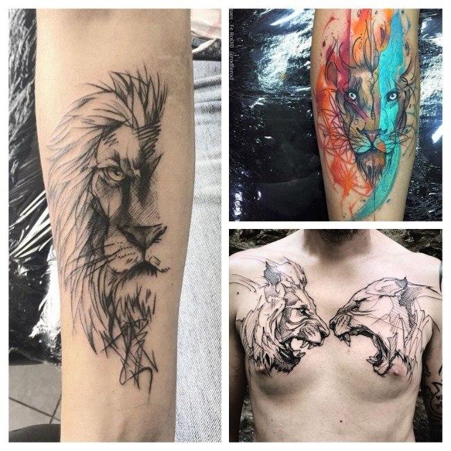 tatuajes para hombres modernos
