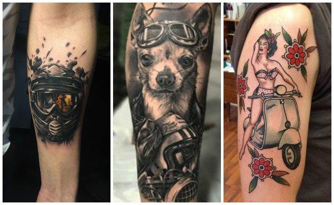 Tatuajes para motos