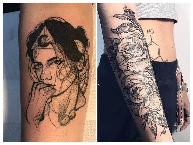 tatuajes para mujeres abdomen