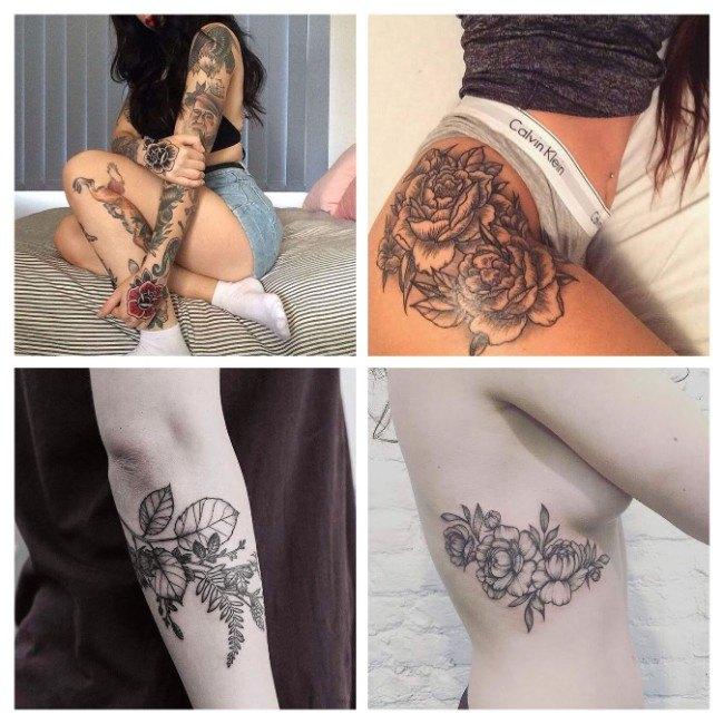 tatuajes para mujeres chiquitos