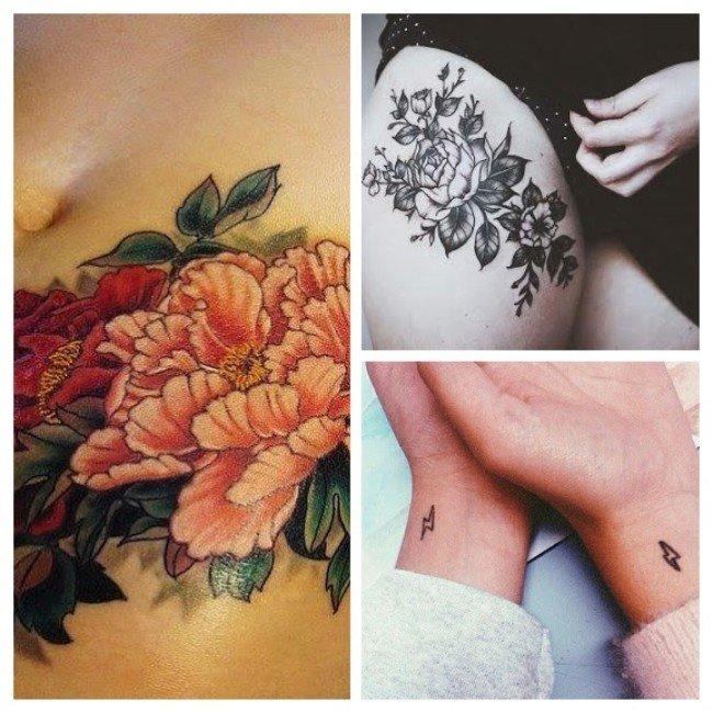 tatuajes para mujeres flores