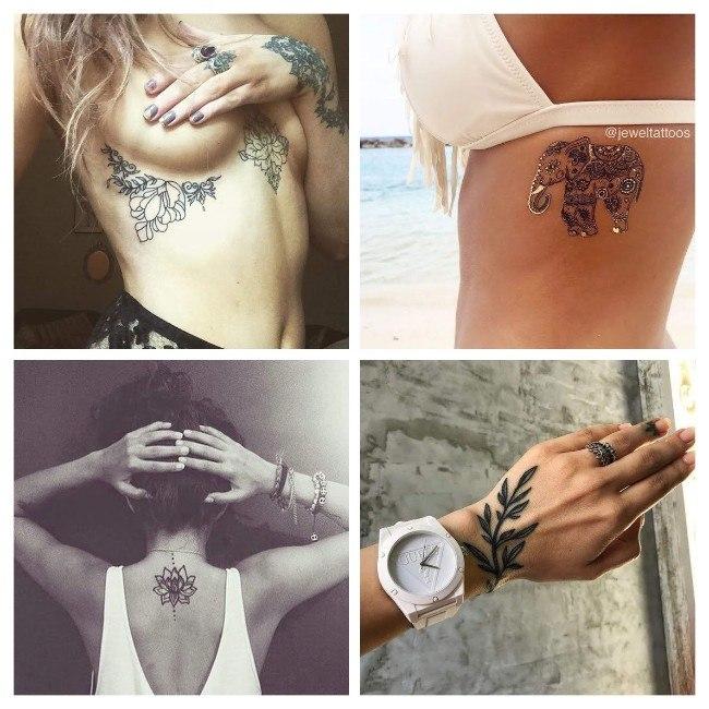 tatuajes para mujeres rosas