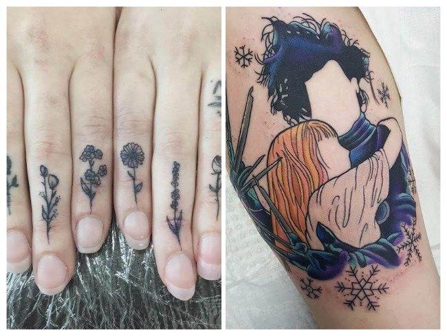 tatuajes para mujeres tobillo