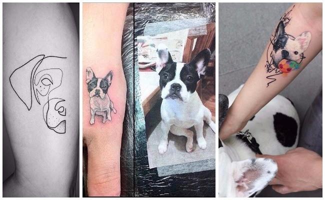 Tatuajes de perros de caza