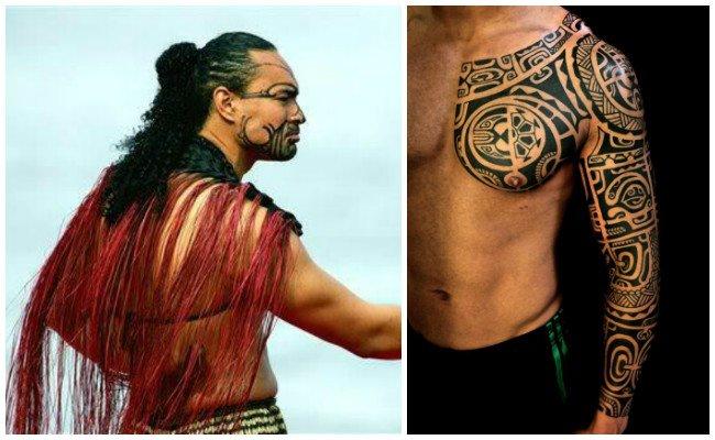 Tatuajes de la Polinesia