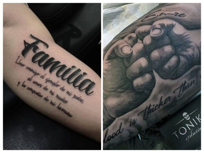 tatuajes significado familiar